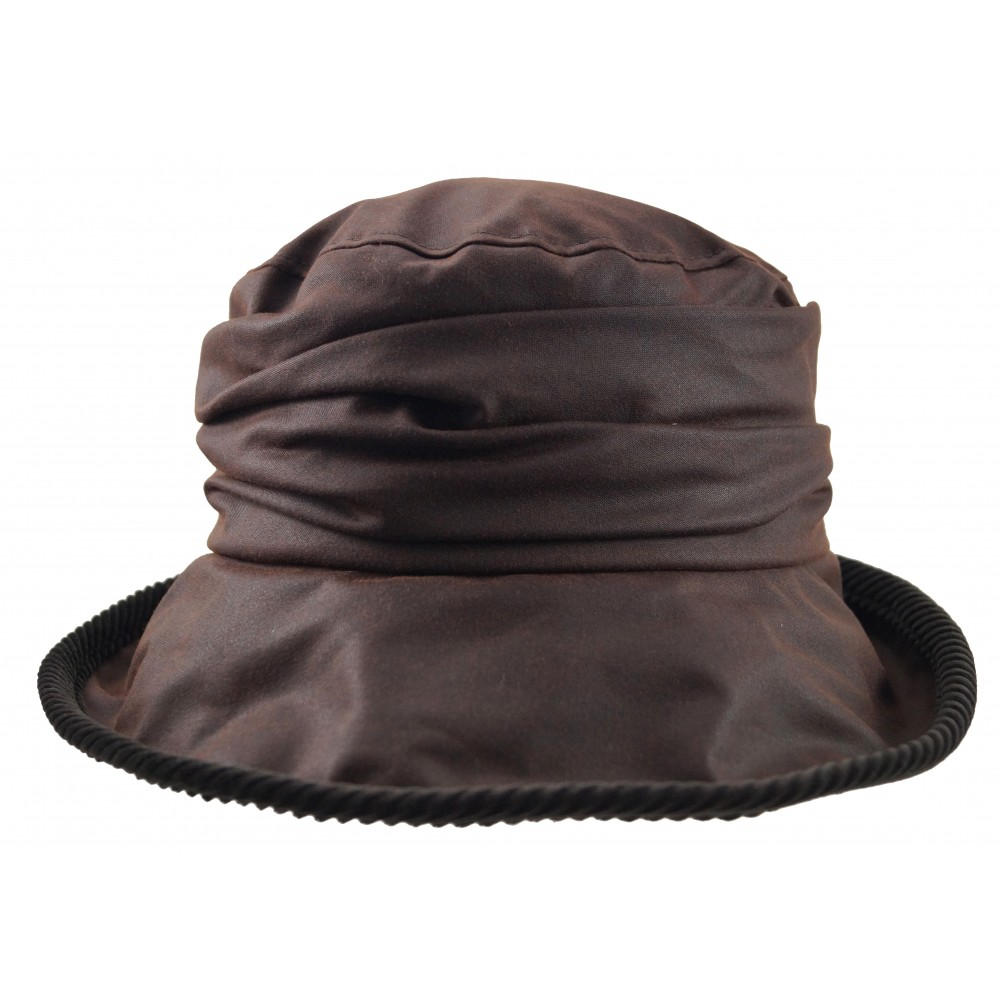 Rain hat -  Eveline - brown