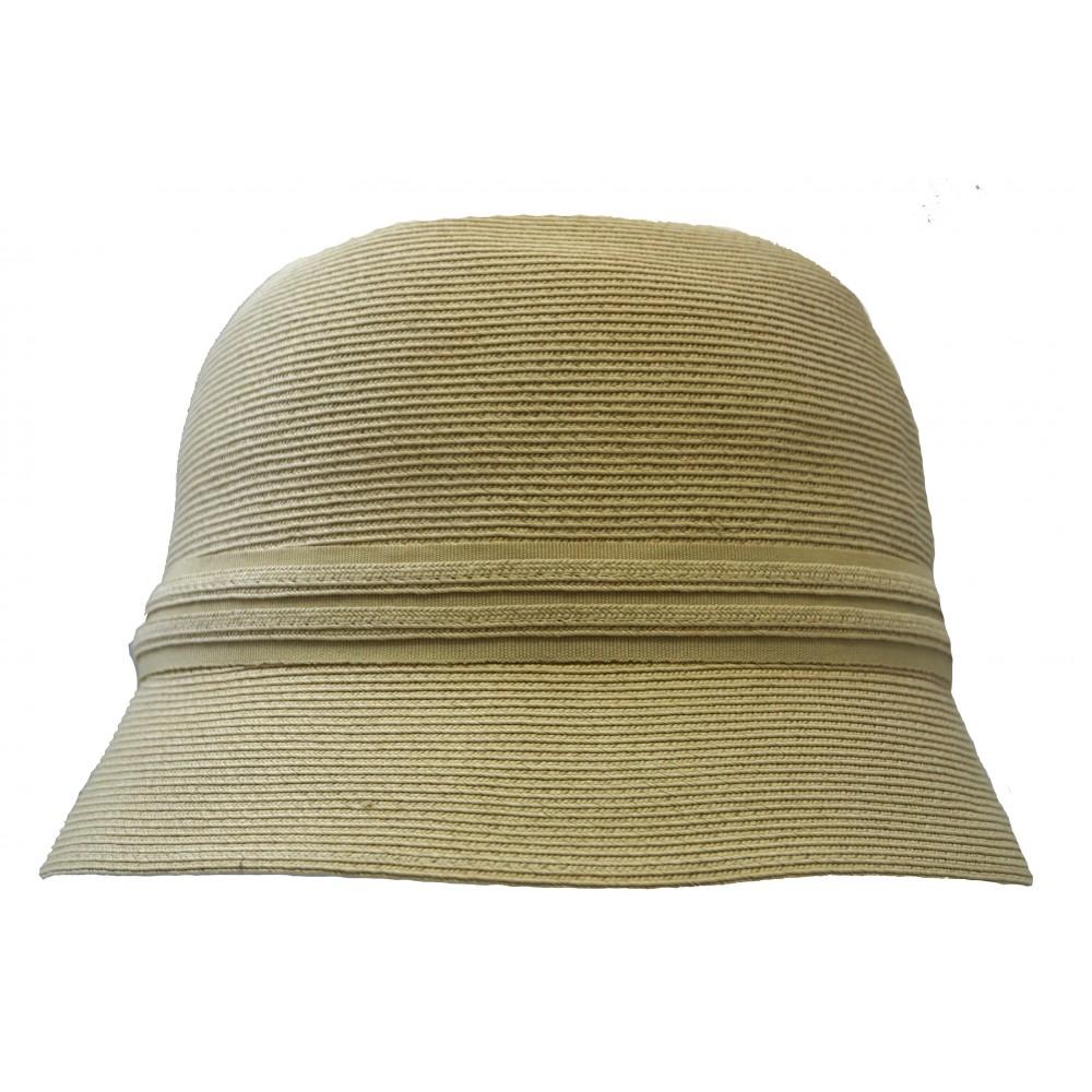 Small brim hat - Lotte - natural