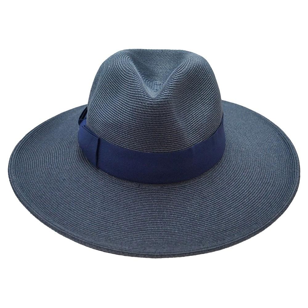 Fedora hat - Veronique - navy