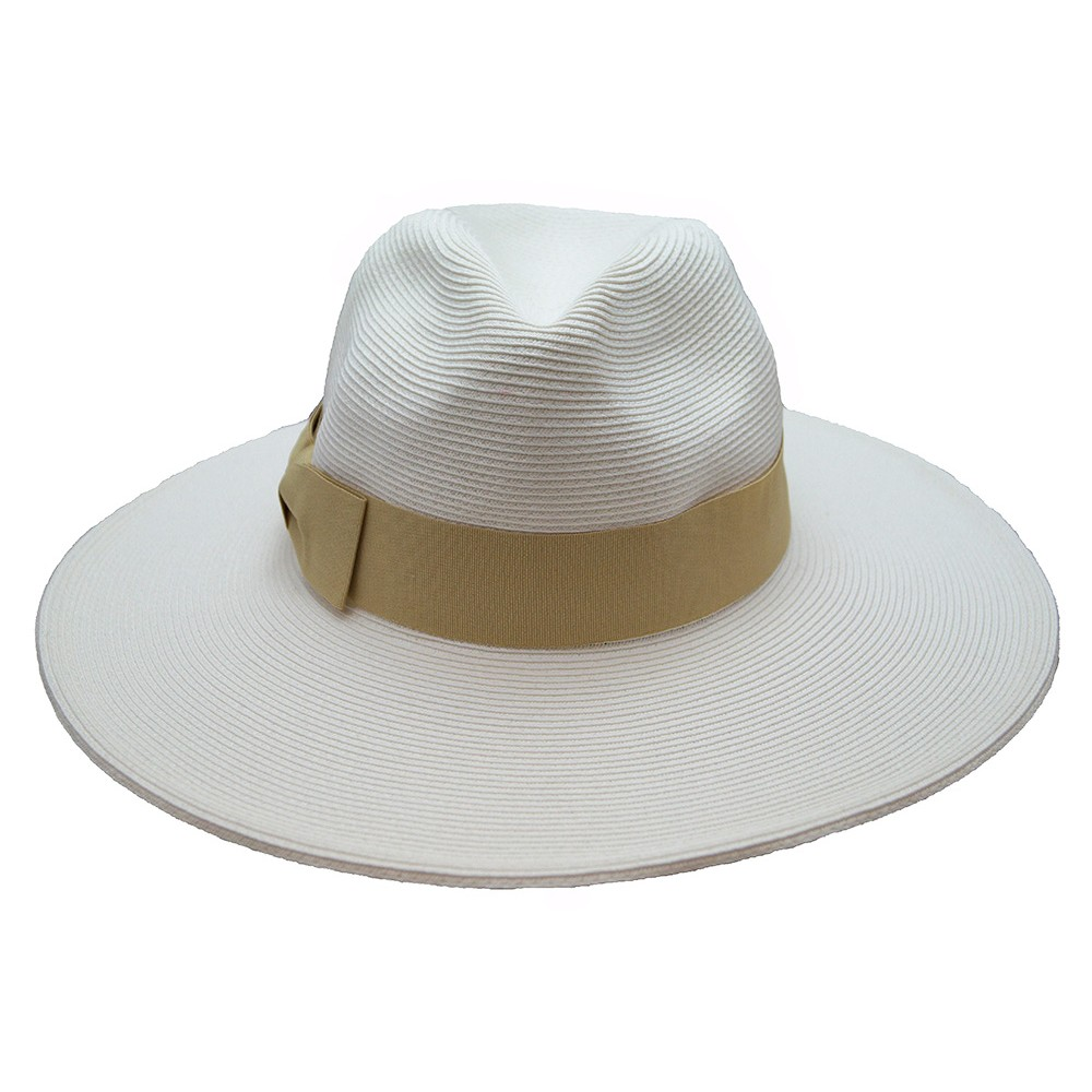 Fedora hat - Veronique - white