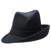 Trilby Hat - Claudette - grey