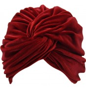 Turban - Jasmijn - Velvet -Red
