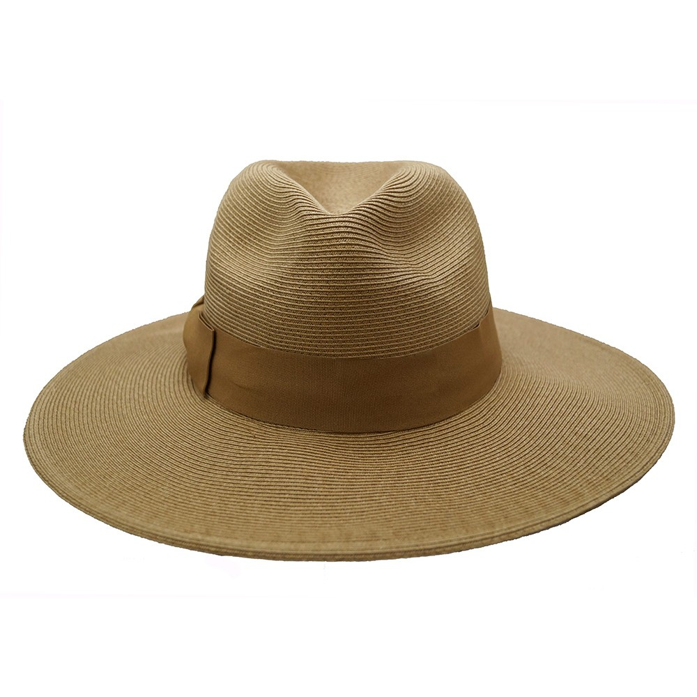 Fedora hat - Veronique - camel