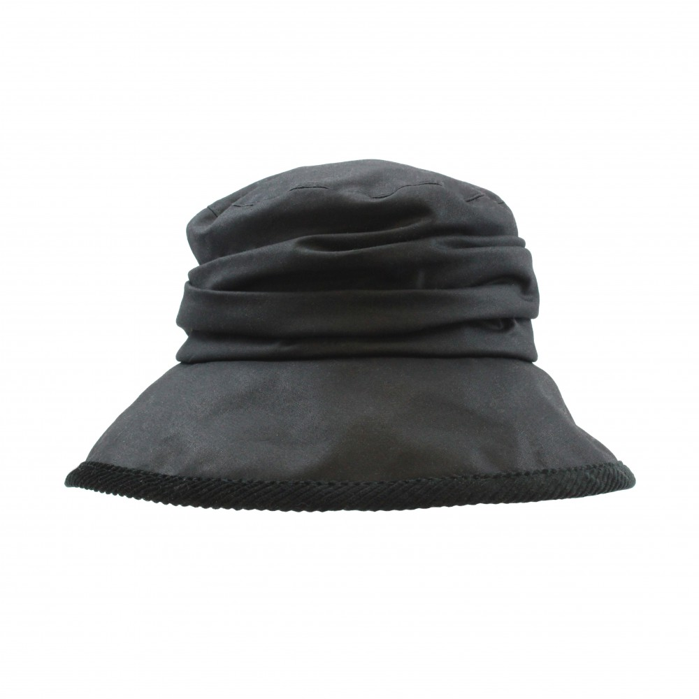 Rain hat - Evelijne - black
