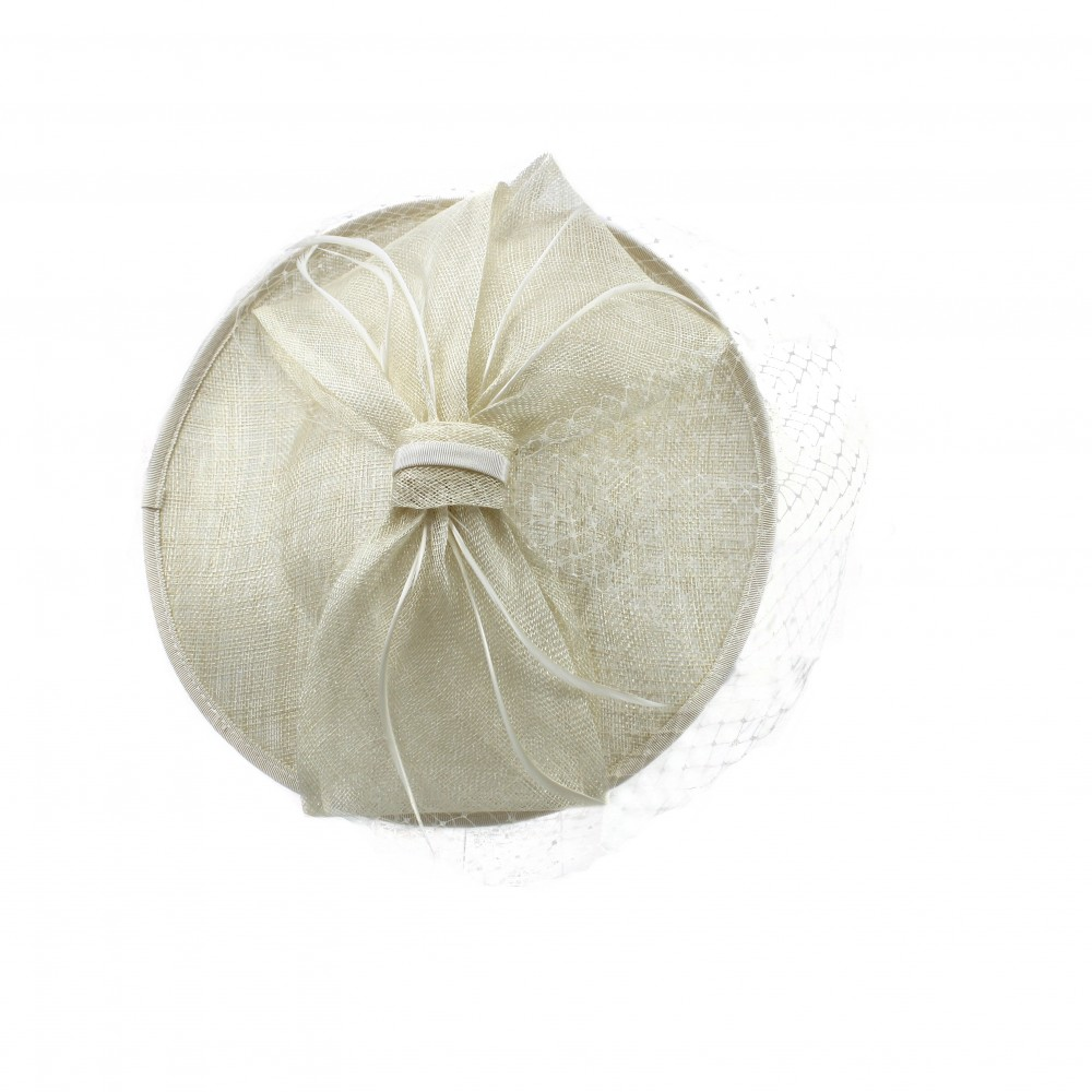 Fascinators - Sheila - Ivory