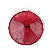 Fascinators - Sheila - Red
