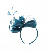 Fascinators - Anne - turquoise