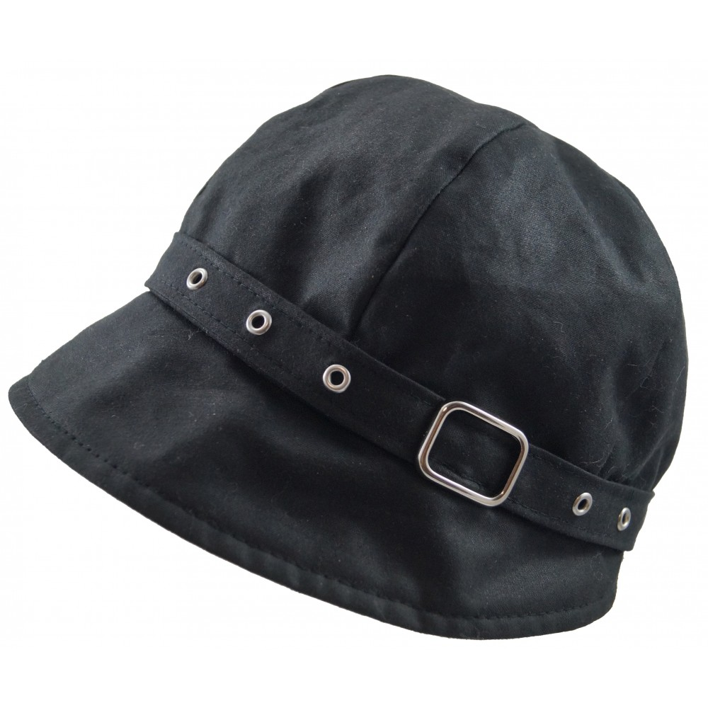 Rain hat - Birgit - black