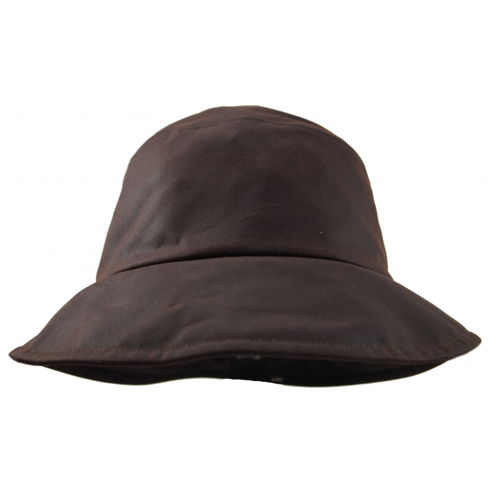 Rain hat - Pip - brown