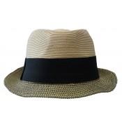 Trilby hat - Trilby - camel/black