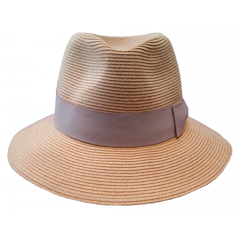 Fedora hat - Josephine - dusty pink
