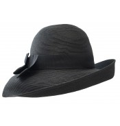 Wide brim hat - Tara - black