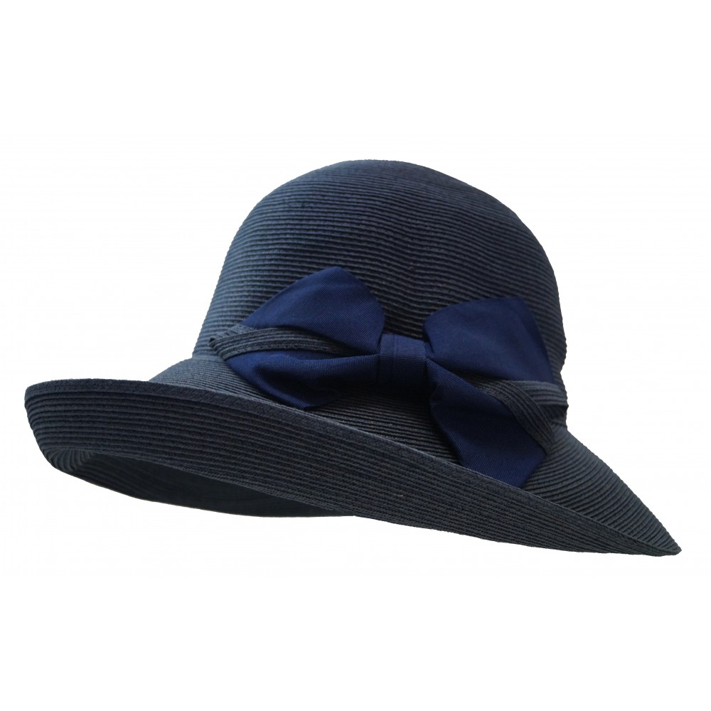 Wide brim hat - Chloé- navy