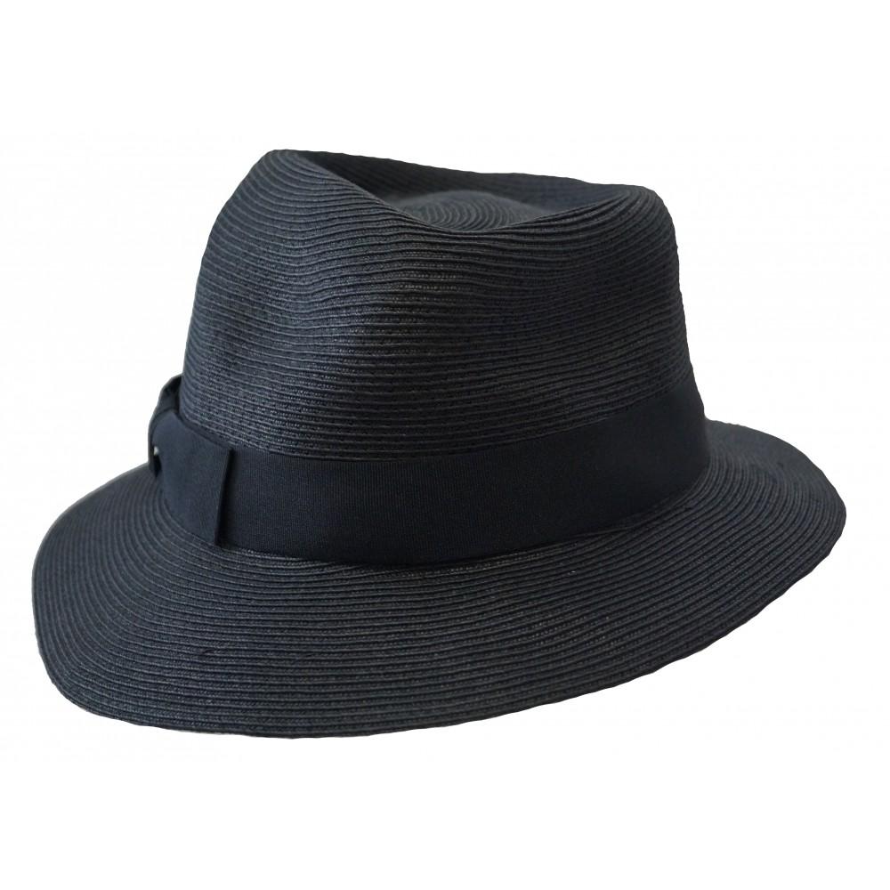 Trilby hat - Greta - black