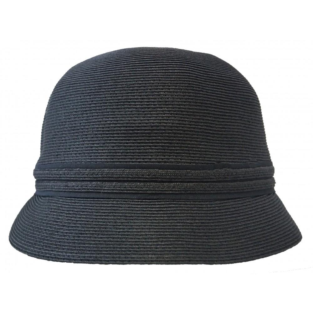 Small brim hat - Lotte - black