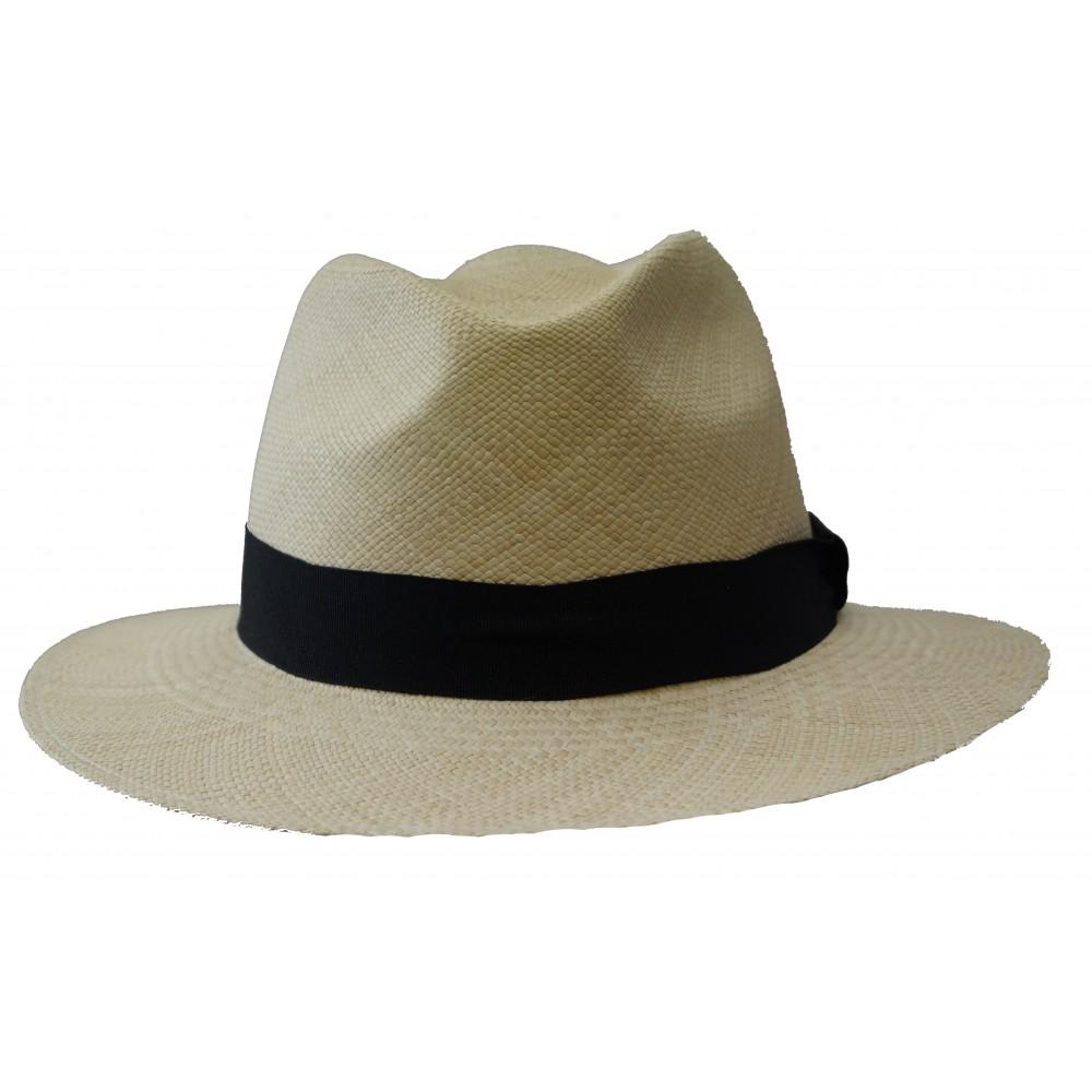 04d13996f0205c Oliver Sander Panama hat - Fedora - Natural - Hat Gallery