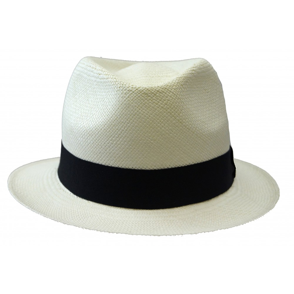 Panama hat - Trilby - White (bleach)