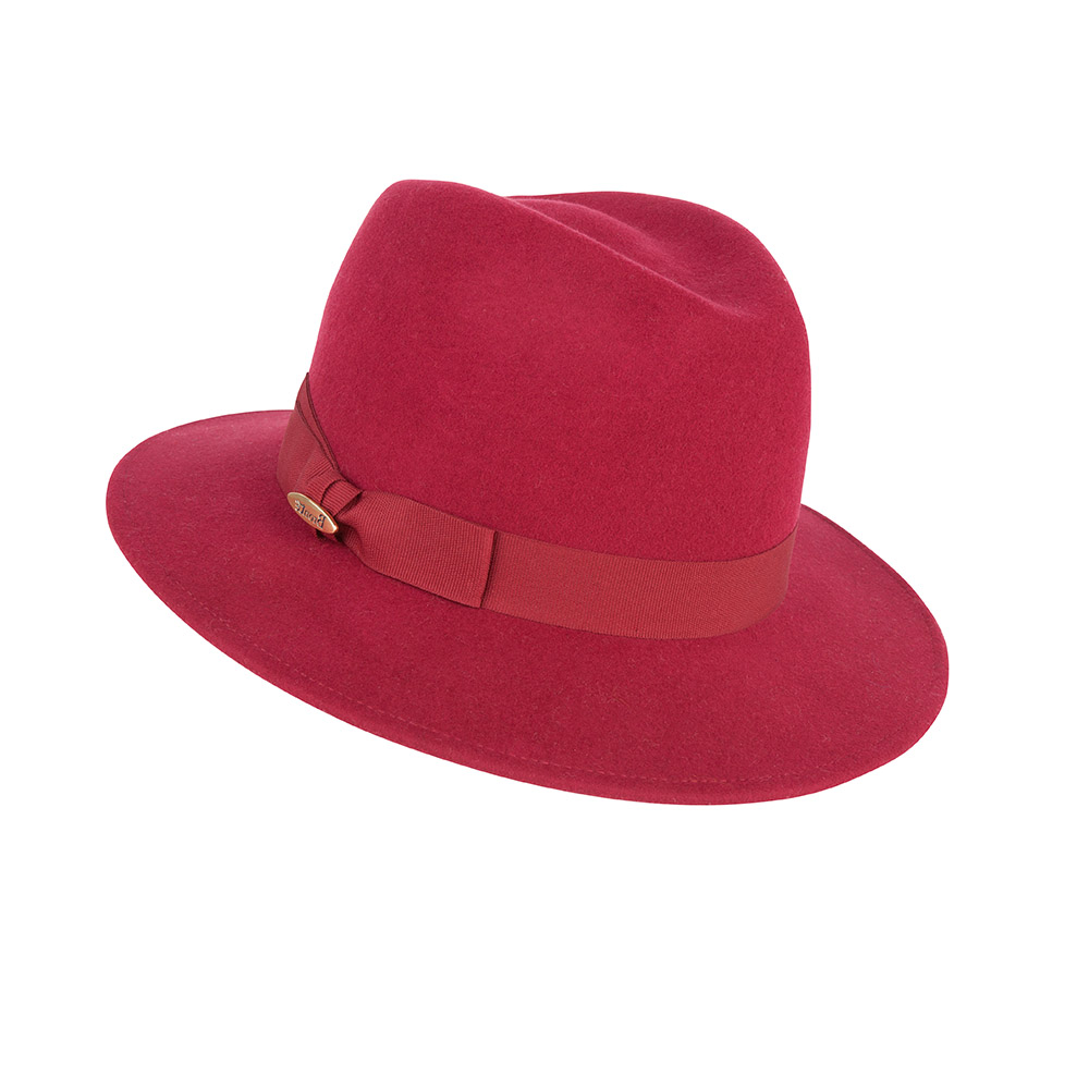 Fedora hat - Rachel - orange