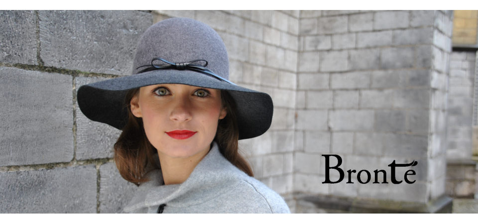 Bronté floppy felt actress Hat