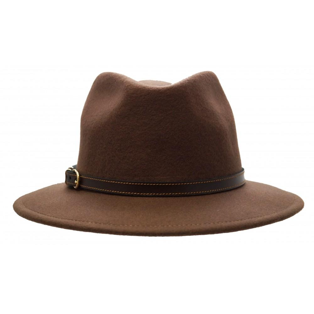 Bronté Fedora hat - Cleo - camel - Hat Gallery 26c7a09981b