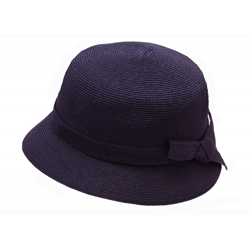 Small brim hat - Tessa - navy