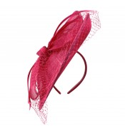 Fascinators - Sheila - Fuchsia