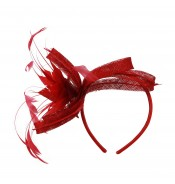 Fascinators - Anne - Red