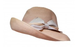 Wide brim hat - Chloé- dusty pink