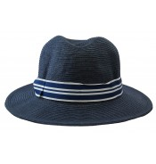 Wide brim hat - Dana - navy