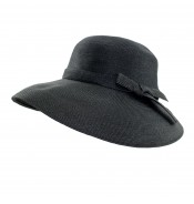 Wide brim hat - Joanna - black
