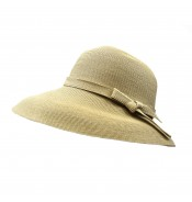 Wide brim hat - Joanna - natural