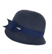 Small brim hat - Cloche - navy