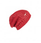 Beanie - Valiani - wool - red