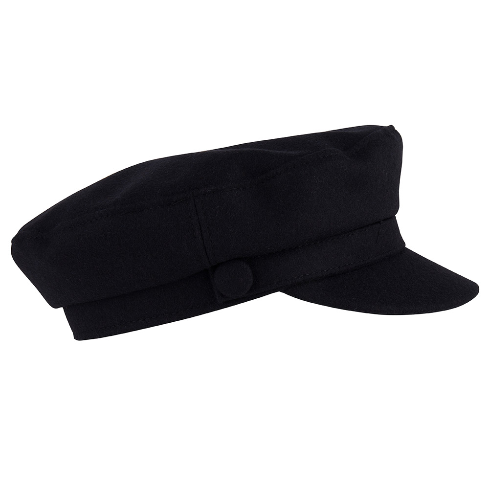 Cap - Shipper's - Navy Wool