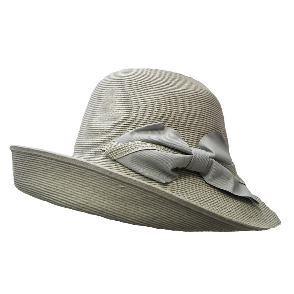 Wide brim hat - Chloé- grey