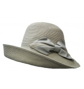 Wide brim hat - Chloé- grey