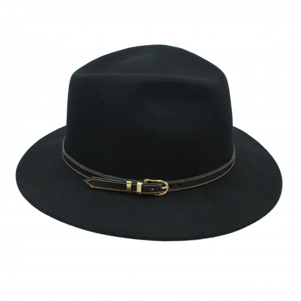 Fedora hat - Cleo - Black