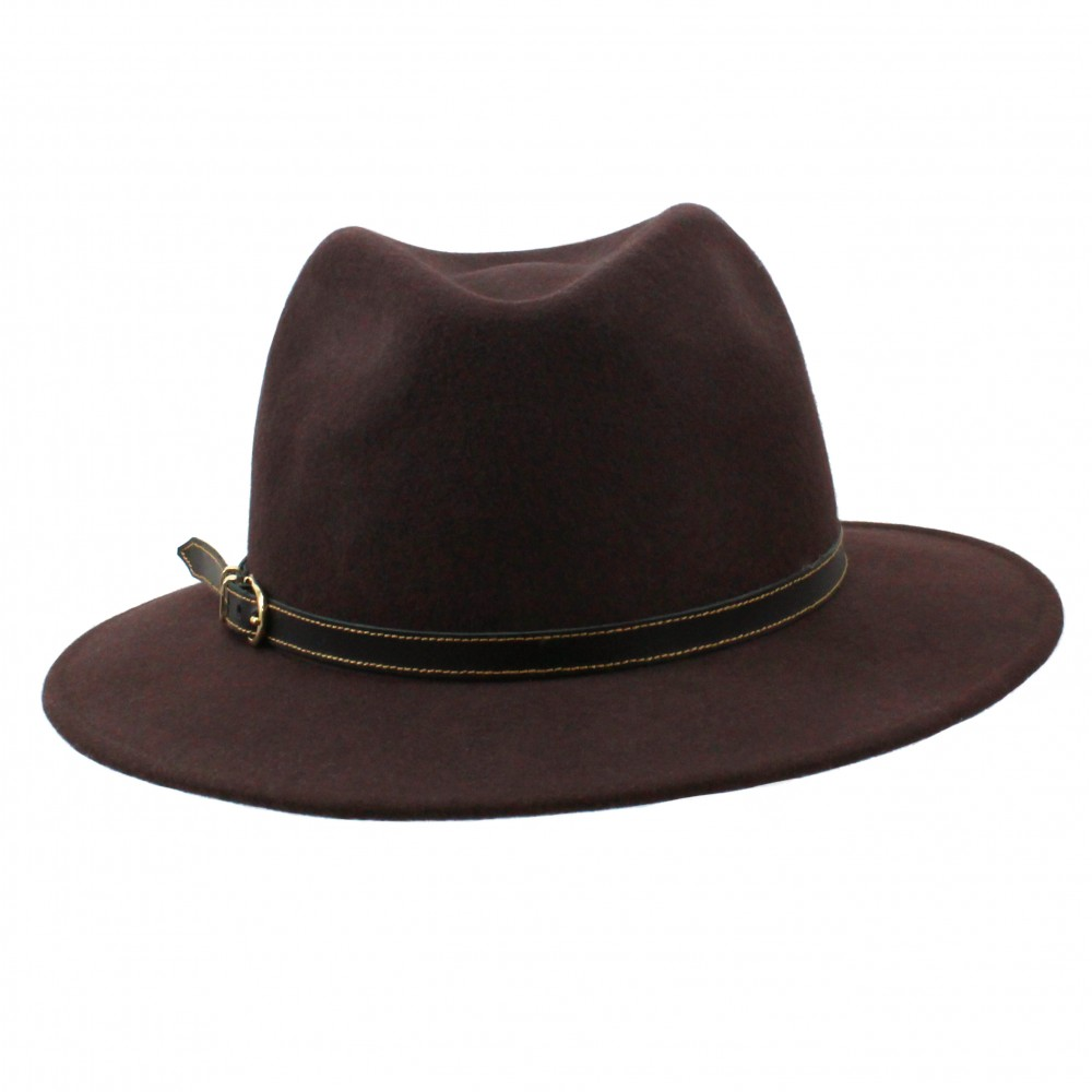 Fedora hat - Cleo - Brown