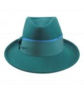 Fedora hat - Natalia - teal